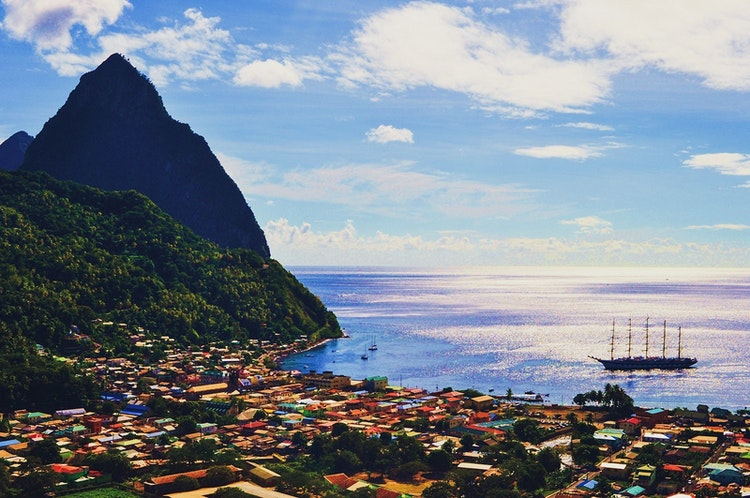 St Lucia Caribbean Tidlrs Live Luxury 12 Most Instagrammable Luxury Landscapes 5